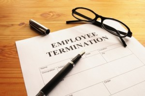 AWOL Termination laws Sacramento California